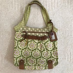 Fossil Canvas Tote Bag